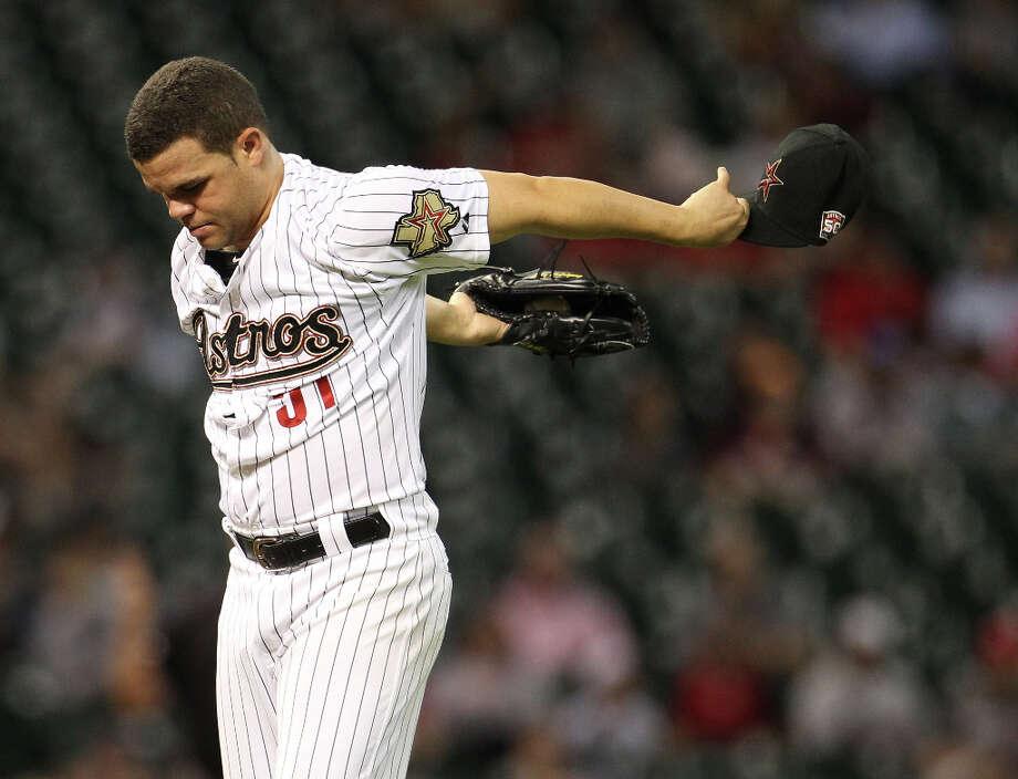 Wandy RodriguezPosition:PNew team: Pittsburgh Pirates Photo: Karen Warren / © 2012  Houston Chronicle