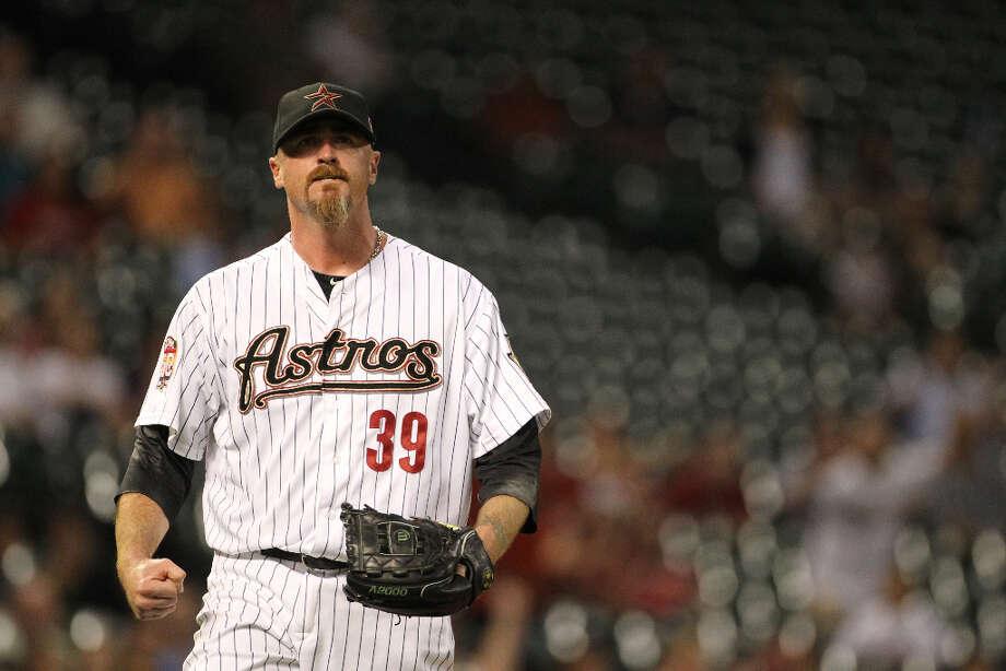 Brett MyersPosition:PNew team: Cleveland Indians Photo: Nick De La Torre / 2012  Houston Chronicle