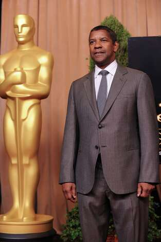 Actor Denzel Washington attends the 85th Academy Awards Nominees Luncheon at The Beverly Hilton Hotel on February 4, 2013 in Beverly Hills, California.  AFP PHOTO / Robyn BeckROBYN BECK/AFP/Getty Images Photo: ROBYN BECK, AFP/Getty Images / AFP