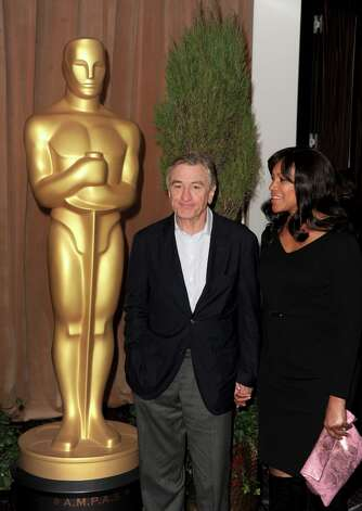 BEVERLY HILLS, CA - FEBRUARY 04:  Actor Robert De Niro and Grace Hightower attend the 85th Academy Awards Nominations Luncheon at The Beverly Hilton Hotel on February 4, 2013 in Beverly Hills, California. Photo: Kevin Winter, Getty Images / 2013 Getty Images