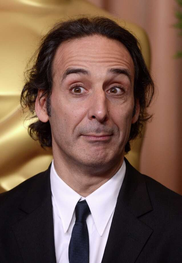 BEVERLY HILLS, CA - FEBRUARY 04:  Composer Alexandre Desplat attends the 85th Academy Awards Nominations Luncheon at The Beverly Hilton Hotel on February 4, 2013 in Beverly Hills, California. Photo: Kevin Winter, Getty Images / 2013 Getty Images