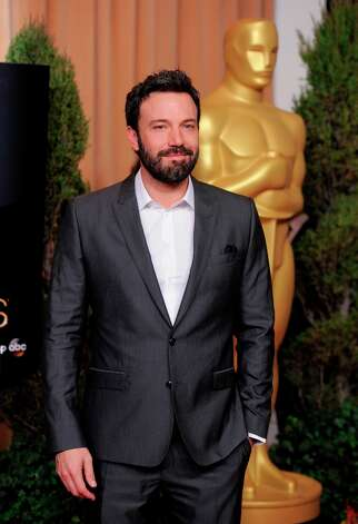 Ben Affleck, nominated for best picture for Argo, arrives at the 85th Academy Awards Nominees Luncheon at the Beverly Hilton Hotel on Monday, Feb. 4, 2013, in Beverly Hills, Calif. (Photo by Chris Pizzello/Invision/AP) Photo: Chris Pizzello, Associated Press / Invision
