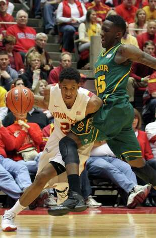 Hot: Iowa State G-F Will Clyburn — Went for a game-high  28 points and 10 rebounds in the Cyclones' victory over Baylor. Clyburn has three double-doubles in his last four games, averaging 19.5 points and 8.5 rebounds in that span.     (AP Photo/Justin Hayworth) Photo: Justin Hayworth, Associated Press / FR170760 AP