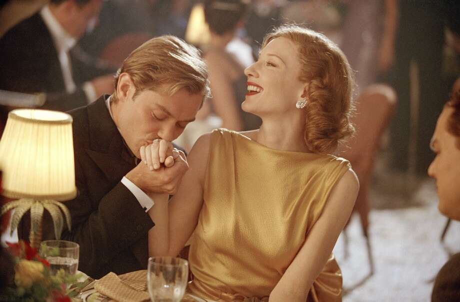 Cate Blanchett won an Academy award for playing Katharine Hepburn in THE AVIATOR.
