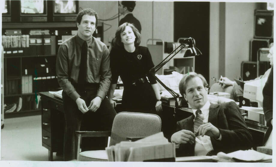. . . But Holly Hunter SHOULD have won for Broadcast news. Photo: Twentieth Century Fox, San Francisco Chronicle