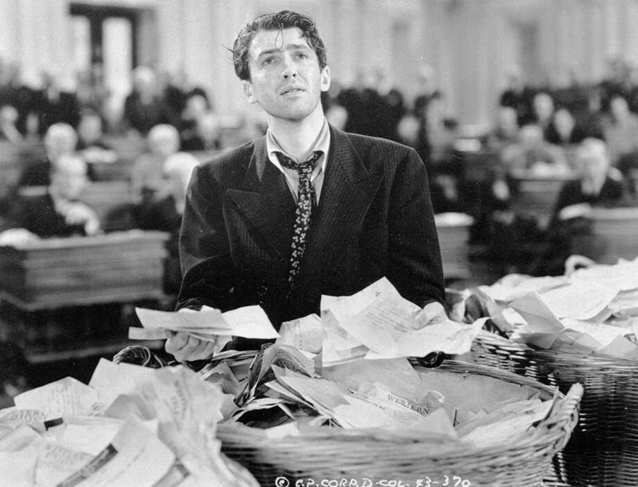 James Stewart should have won best actor in 1939 for Mr. Smith Goes to Washington, and people knew it at the time.  This brought on a bad chain of events spanning forty years . . . Photo: Anonymous, Associated Press / COLUMBIA