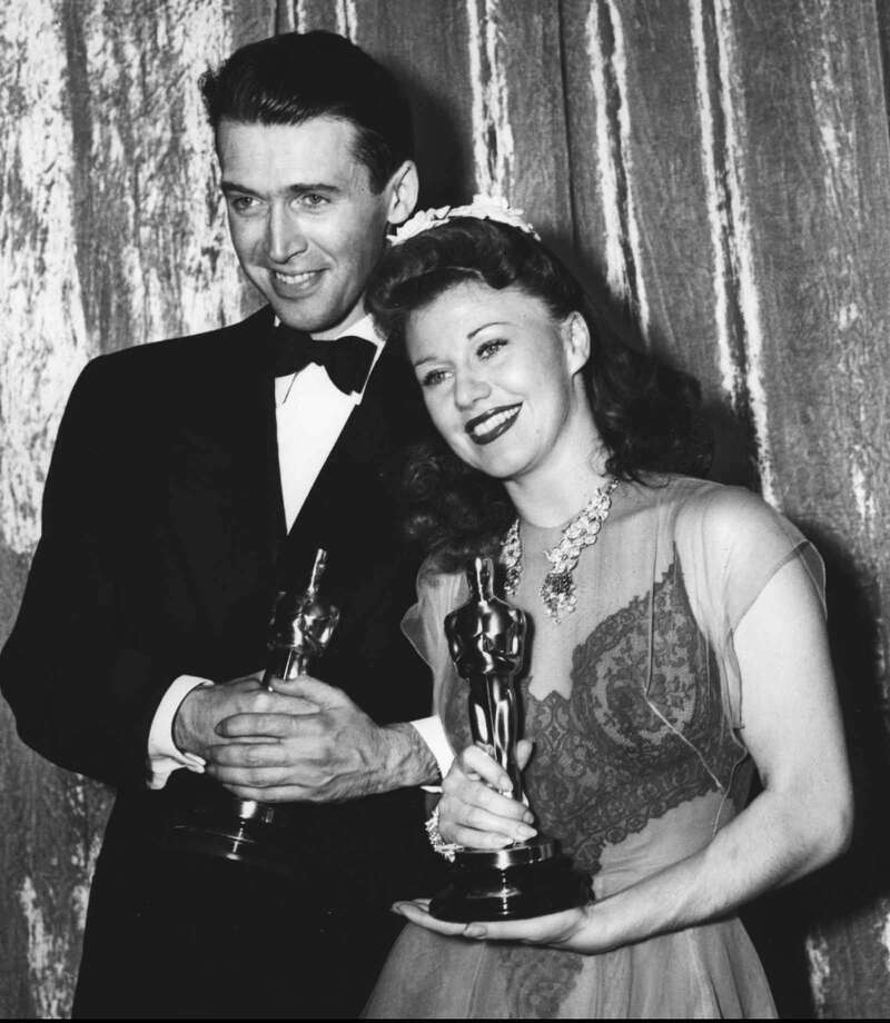 After everyone realized he'd gotten the shaft the year before, Jimmy Stewart won best actor the next year, for his role in The Philadelphia Story. / AP