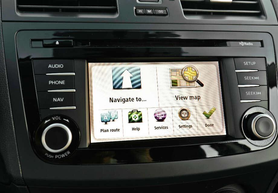 2013 Mazdaspeed3 nav screen