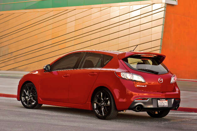 2013 Mazdaspeed3, rally car for the streets.