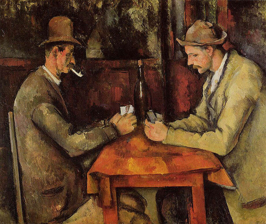 The Card Players by Paul Cézanne was sold to the Royal Family of Qatar for more than $250 million in April 2011, making it the richest painting every sold, according to Vanity Fair. With inflation, the 1895 painting would be worth upwards of $255 million.Source: Vanity Fair