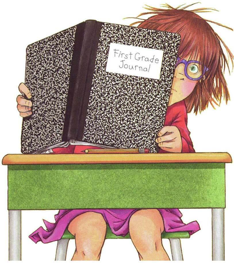 "Many know Junie B. Jones through the best-selling series by Barbara Park. This illustration by Denise Brunkus comes from the cover of ""Junie B., First Grader (at Last!),"" one of several books, published by Random House, that serves as inspiration for the musical ""Junie B. Jones,"" which will be performed at the Westport (Conn.) Country Playhouse on Sunday, Feb. 10, 2013, at 1 and 4 p.m. For information on tickets, call 203-227-4177 or visit http://www.westportplayhouse.org. Photo: Contributed Photo"