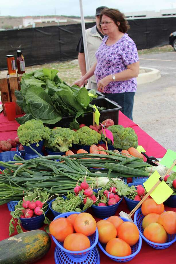 Wednesday - Leon Valley Community Center Year round8 a.m. until 1 p.m. 6427 Evers Rd, Leon Valley, TX, 78238Website: San Antonio Farmers' Market Association Photo: Lauri Gray Eaton / Northwest Wee