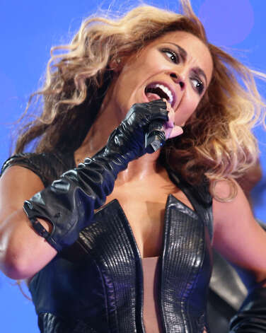 Fresh off her performance at the Pepsi Super Bowl XLVII Halftime Show, Beyonce will kick off a world tour that stops at Mohegan Sun Arena on Aug. 2. Photo: Christopher Polk, Getty Images / 2013 Getty Images