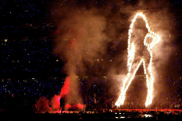 Fresh off her performance at the Pepsi Super Bowl XLVII Halftime Show, Beyonce will kick off a world tour that stops at Mohegan Sun Arena on Aug. 2. Photo: Christian Petersen, Getty Images / 2013 Getty Images