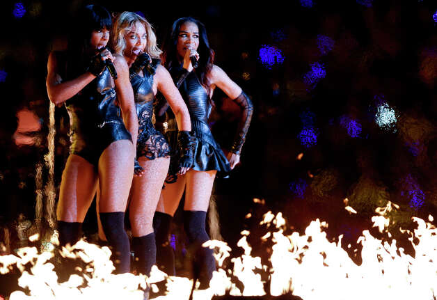 Fresh off her performance at the Pepsi Super Bowl XLVII Halftime Show, Beyonce will kick off a world tour that stops at Mohegan Sun Arena on Aug. 2. Photo: Marcio Sanchez, Associated Press / AP