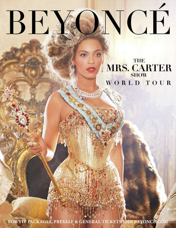The Mrs. Carter Show World Tour Starring BEYONCE comes to Mohegan Sun Arena on Aug. 2. Photo: PR NEWSWIRE