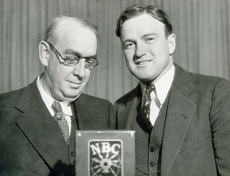 Washington Senators and Boston Red Sox legend Joe Cronin, right, was inducted in the Hall of