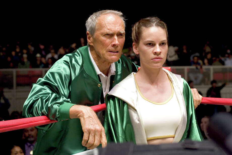 Hilary Swank won a second Oscar for MILLION DOLLAR BABY. Photo: Merie W. Wallace