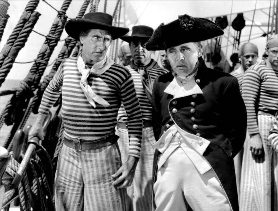 Charles Laughton SHOULD have won the Oscar for his performance as Captain Bligh in MUTINY ON THE BOUNTY, not his performance as Henry VIII in THE PRIVATE LIFE OF HENRY VIII. Photo: MGM 1935