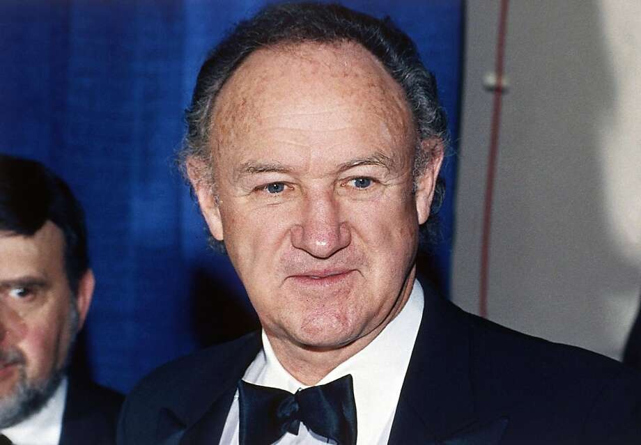 Gene Hackman had the advantage of looking as if he was 50 for four decades. Photo: Associated Press