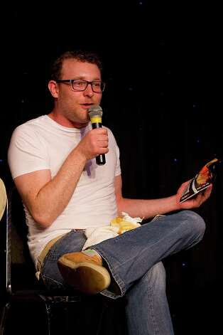 Comedian James Adomian, pictured at Comedy Bang Bang during the 2012 SXSW Music, Film + Interactive Festival at Esther's Follies on March 11, 2012 in Austin, Texas. Photo: Rick Kern, Getty Images / 2012 Rick Kern