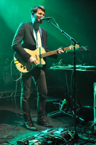 Porcelain Raft, pictured on stage at Shepherds Bush Empire on February 16, 2012 in London, United Kingdom.  (Photo by Andy Sheppard/Redferns) Photo: Andy Sheppard, Getty Images / 2012 Andy Sheppard