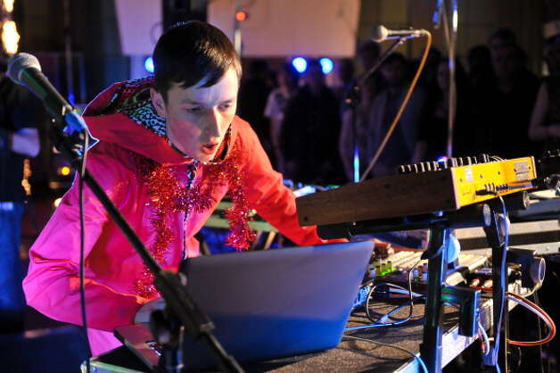 Totally Enormous Extinct Dinosaurs, pictured during BBC Radio 1's Festive Festival 2011 at BBC Maida Vale Studios on December 12, 2011 in London, United Kingdom.  (Photo by Andy Sheppard/Redferns) Photo: Andy Sheppard, Getty Images / 2011 Andy Sheppard