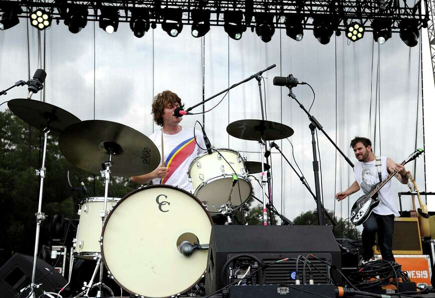 Telekinesis, pictured at the Austin City Limits Music Festival in Austin, Texas.