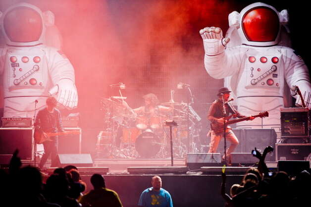 Primus, pictured at Bonnaroo 2011 on June 10, 2011 in Manchester, Tenn. (Photo by C. Taylor Crothers/FilmMagic) Photo: C. Taylor Crothers, Getty Images / 2011 C. Taylor Crothers