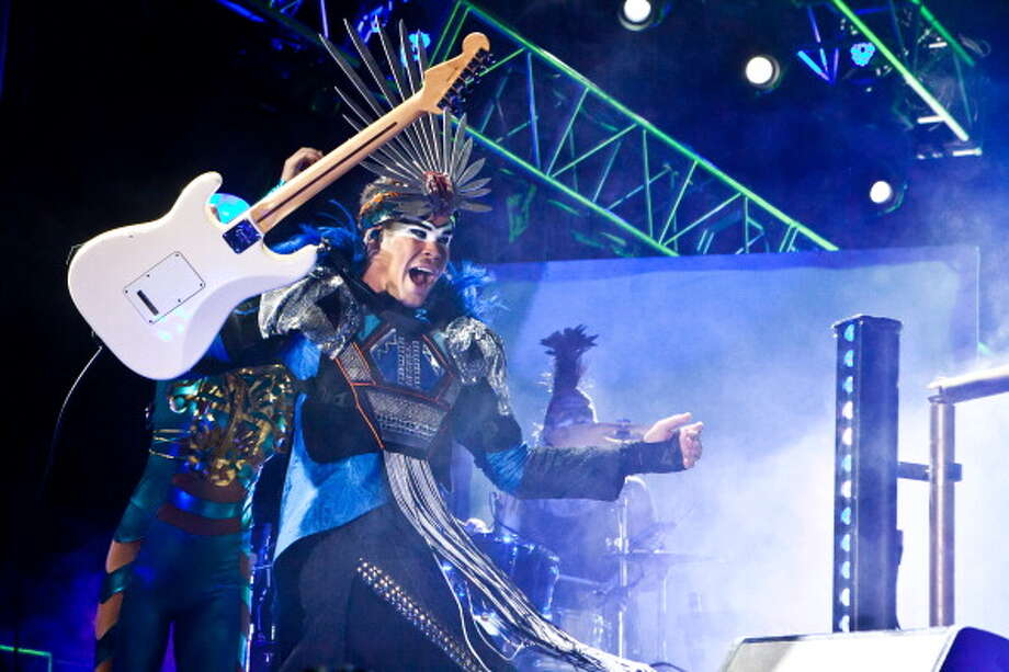 Empire Of The Sun, pictured at the 2011 Coachella Valley Music & Arts Festival  on April 16, 2011 in Indio, Calif. (Photo by Chelsea Lauren/WireImage) Photo: Chelsea Lauren, Getty Images / 2011 Chelsea Lauren