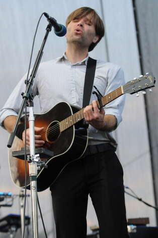 CINCINNATI, OH - JULY 15:  Benjamin Gibbard of Deeath Cab For Cutie performs during the 2012 Bunbury Music Festival at Yeatman's Cove Park on July 15, 2012 in Cincinnati, Ohio. Photo: Stephen J. Cohen, Getty Images / 2012 Stephen J. Cohen