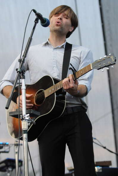CINCINNATI, OH - JULY 15:  Benjamin Gibbard of Deeath Cab For Cutie performs during the 2012 Bunbury