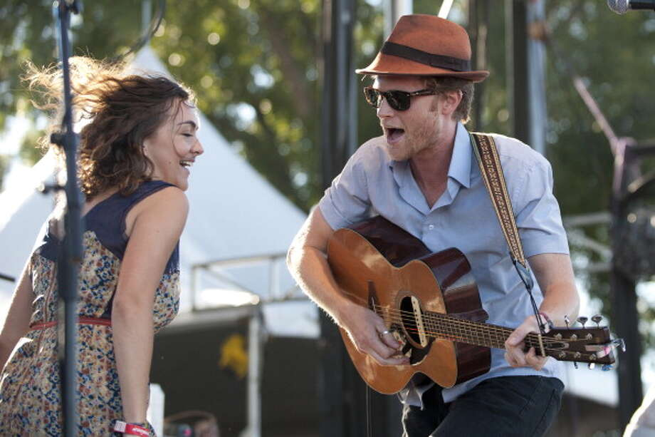 The Lumineers, pictured Oct. 14, 2012 in Austin, Texas. Photo: Cooper Neill, Getty Images / 2012 Cooper Neill