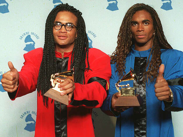 Milli Vanilli wins Best New Artist (1990): The biggest mistake Best New Artist nominees Neneh Cherry, the Indigo Girls, Soul II Soul and Tone Loc made was actually performing their own music. No such problem for category winners Milli Vanilli, the manufactured German duo whose only contribution to their album was showing up for the cover shoot.