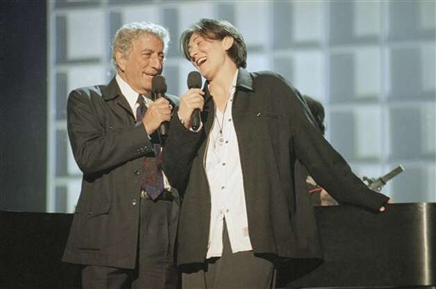 Tony Bennett wins Album of the Year (1995): Nice guy, great voice. But did Bennett really deserve the the top prize for another run through the American Songbook (again for MTV Unplugged)? Not when the award could have gone to era-defining classics such as Green Day's Dookie, Nine Inch Nails' The Downward Spiral, Hole's Live Through This, Jeff Buckley's Grace or Soundgarden's Superunknown. None of the above, incidentally, was even nominated. Photo: Chris Pizzello, Associated Press / AP