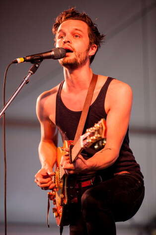 "NEWPORT, RI - JULY 29:  Kristian Matsson ""The Tallest Man on Earth"" performs during the 2012 Newport Folk Festival>> at Fort Adams State Park on July 29, 2012 in Newport, Rhode Island. Photo: Douglas Mason, Getty Images / 2012 Douglas Mason"