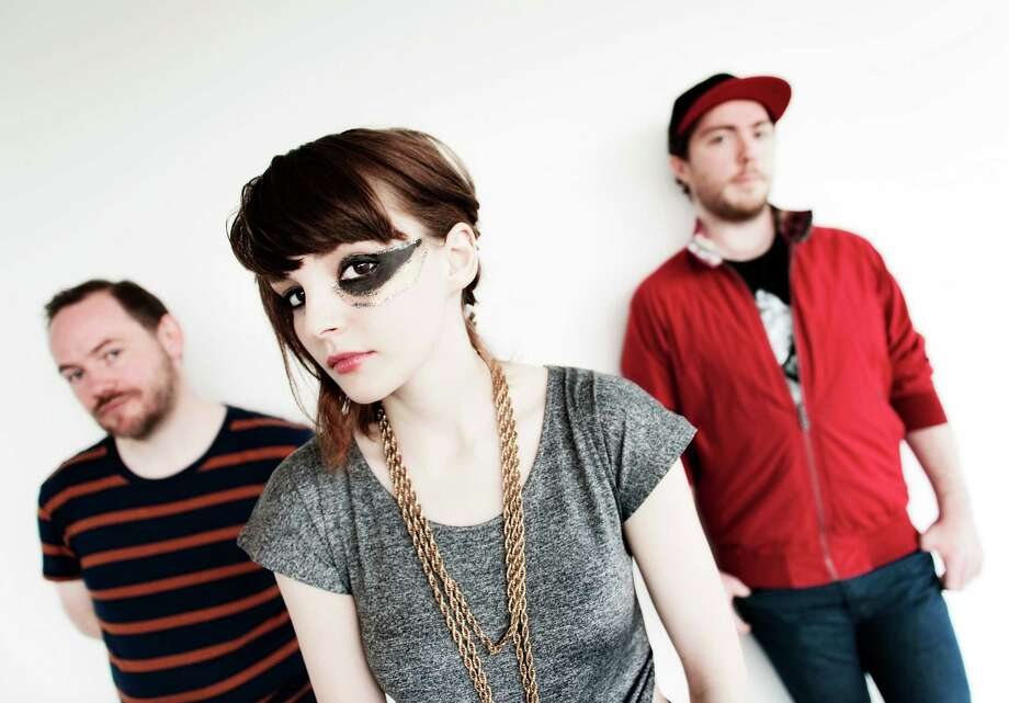 Chvrches, pictured on Jan. 3, 2013 in Glasgow, United Kingdom. Photo: Ross Gilmore, Getty Images / 2013 Ross Gilmore