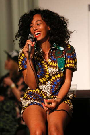 Solange, pictured Nov. 27, 2012 in Los Angeles, Calif. Photo: Imeh Akpanudosen, Getty Images / 2012 Imeh Akpanudosen