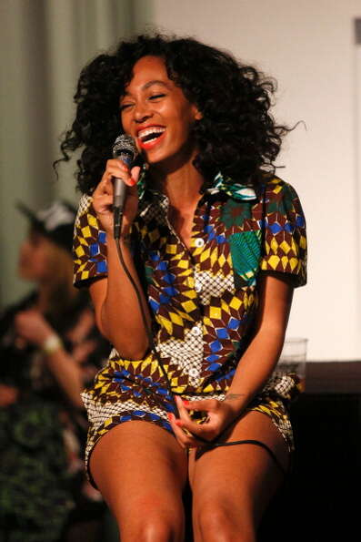 Solange, pictured Nov. 27, 2012 in Los Angeles, Calif.