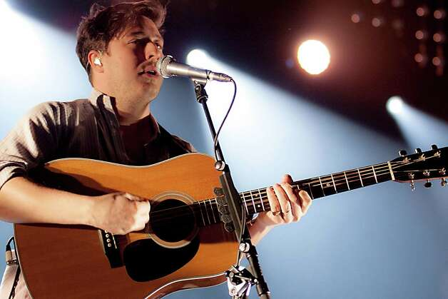 Mumford & Sons, pictured Dec. 14, 2012 in Cardiff, Wales. Photo: Mike Lewis Photography, Getty Images / 2012 Mike Lewis Photography