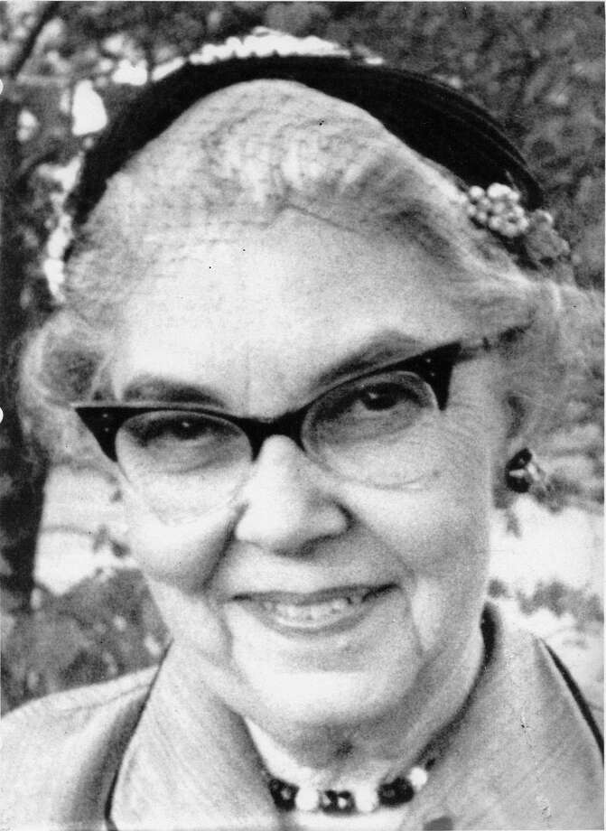 Mrs. Lucian R. Carroll was founder of the Charity Guild of Catholic Women. Photo: R. Clayton McKee / Charity Guild of Catholic Women