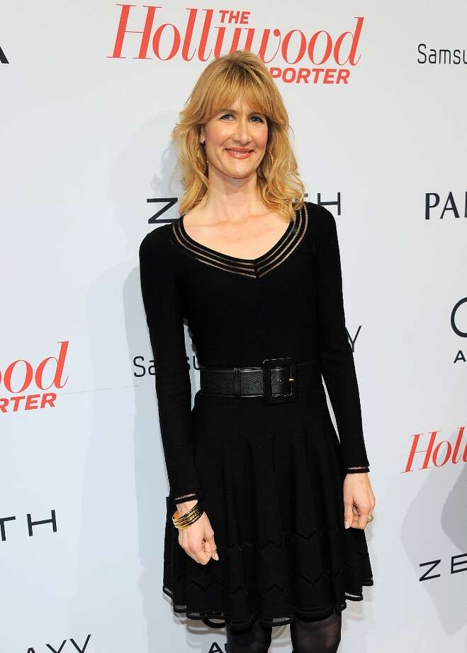 Laura Dern arrives at The Hollywood Reporter Nominees' Night at Spago on Monday, Feb. 4, 2013, in Beverly Hills, Calif. (Photo by Chris Pizzello/Invision for The Hollywood Reporter/AP Images) Photo: Chris Pizzello, Associated Press / Invision