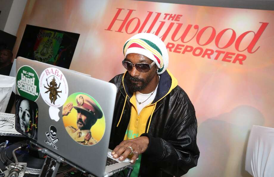 Snoop Dogg, AKA Snoop Lion, performs at The Hollywood Reporter Nominees' Night Insider at Spago on Monday, Feb. 4, 2013, in Beverly Hills, Calif. (Photo by Casey Rodgers/Invision for The Hollywood Reporter/AP Images) Photo: Casey Rodgers, Associated Press / Invision