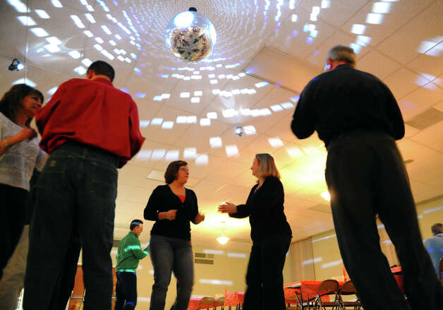 The Second Annual Valentine Dance was held at the Knights of Columbus Tinto Council #47 in Milford, Conn. on Saturday February 2, 2013. The council is one of the oldest in the Roman Catholic fraternal organization and will be celebrating its 125th anniversary. Photo: Christian Abraham / Connecticut Post