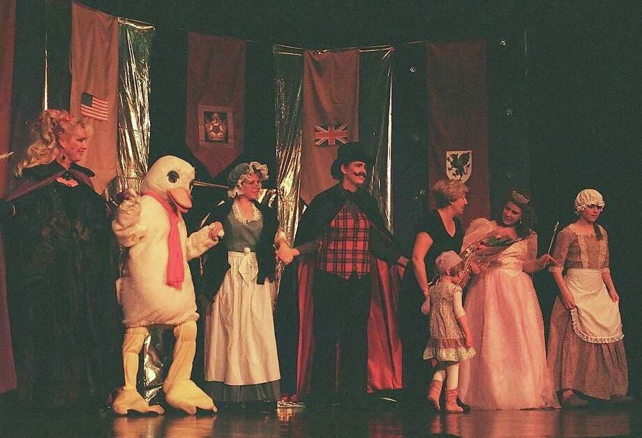 """Little Red Riding Hood,"" a panto production, will be performed by the British Amateur Theatre Group of Darien at Darien Town Hall on Saturday, Feb. 9, and Sunday, Feb. 10. Photo: Contributed"