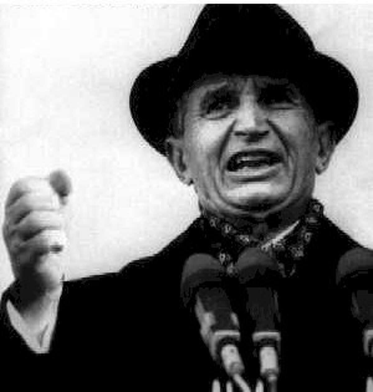Romanian dictator Nicolae Ceausescu and his wife Elena were rumored to have kept their own personal witch while they ruled their nation with iron fists. They were executed as their communist regime collapsed.