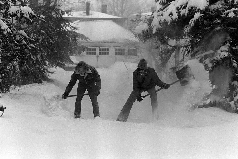 The Blizzard of February 1978 in the Greater Danbury area. Photo: File Photo, ST / The News-Times File Photo