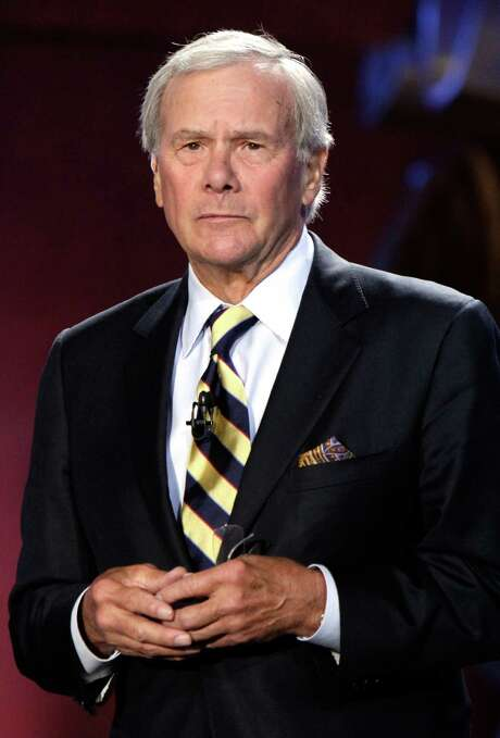 """FILE - In this Sept. 27, 2010 file photo, Tom Brokaw at the NBC News' """"Education Nation"""" Summit, in New York. (AP Photo/Richard Drew, file) Photo: Richard Drew, STF / AP"""