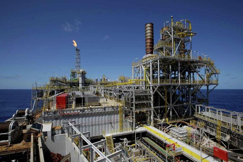 Demand for offshore equipment, such as Petrobras' offshore ship platform FPSO Cidade de Angra dos Reis, will remain strong, according to a Barclay's report. Photo: Felipe Dana / AP2010