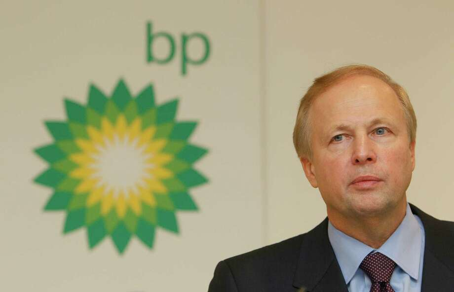 Bob Dudley, CEO of BP, said Tuesday that the company does not yet know if it will be allowed to bid during next month's Gulf lease sale. Photo: Alastair Grant, STF / AP